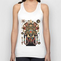 spirit Tank Tops featuring Mayas Spirit - Boom 2012 by Exit Man