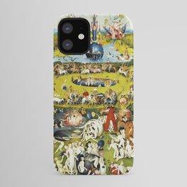 Bosch Garden Of Earthly Delights Panel 2 iPhone Case