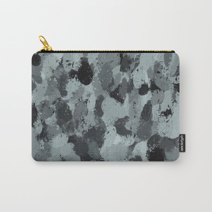 Black and Smokey Blue Pastels 3216 Carry-All Pouch