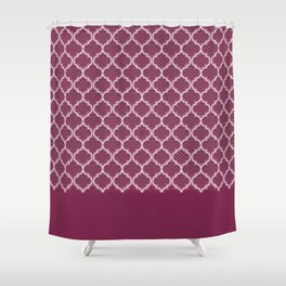 Harem Window (Mulberry Wine) Shower Curtain