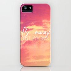 Fly Away Slim Case iPhone (5, 5s)