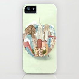 The Big Apple and I iPhone Case