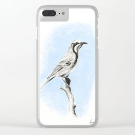 Tawny Crowned Clear iPhone Case
