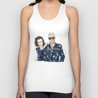 lv Tank Tops featuring The LV Squad by Art of Nanas