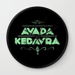 Avada Kedavra Wall Clock
