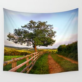 Follow The Path Wall Tapestry
