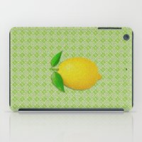 lemon iPad Cases featuring Lemon by Mr and Mrs Quirynen