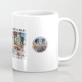 Times Square NYC (poster edition) Coffee Mug