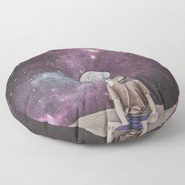 PSYCHONAUT UNIVERSE MEDITATION Floor Pillow