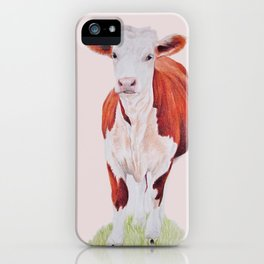 Herefordshire Cow iPhone Case
