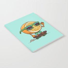 The Orange Skater Notebook