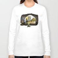 kermit Long Sleeve T-shirts featuring Kermit the Hut by scott sherwood