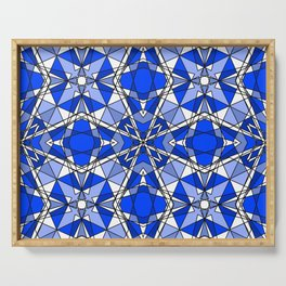 Blue Sapphire Serving Tray