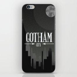 gotham city iPhone Skin