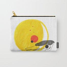 Desert Sun Skeleton Carry-All Pouch