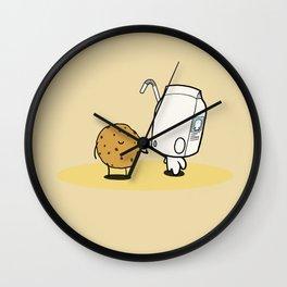cookies love cream Wall Clock