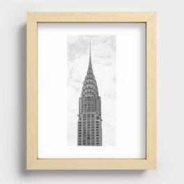 Chrysler Building Recessed Framed Print