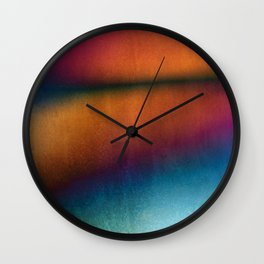Walking By The Lake Wall Clock