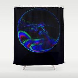 The Light Painter 12 Shower Curtain