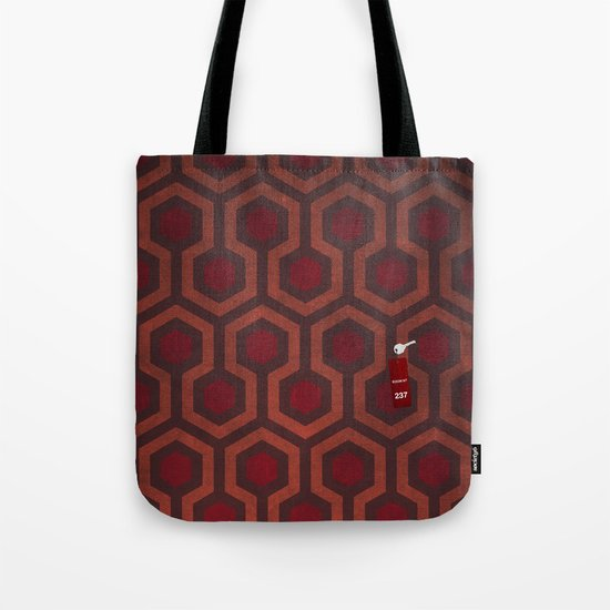the Shining Rug & Room 237 Tote Bag