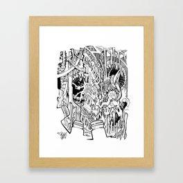 MonoTubes Framed Art Print