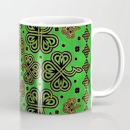 Shamrock Clover Celtic Ornament Coffee Mug