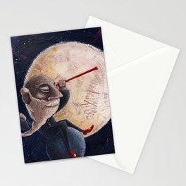 Galileo Galilei - Osservando la notte Stationery Cards
