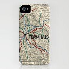 Terminus Map Slim Case iPhone (4, 4s)