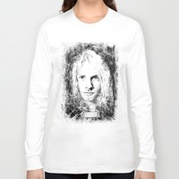 kurt cobain Long Sleeve T-shirts featuring 27 Club - Cobain by MUSENYO