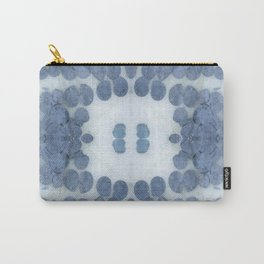 Sea Shell Disco Powder Blue Carry-All Pouch
