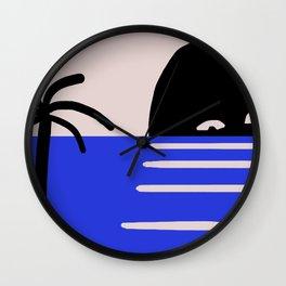 ocean trip 5 Wall Clock