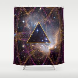 Higher State of Consciousness Shower Curtain