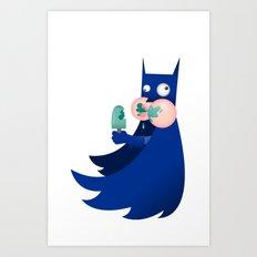 Buttman Art Print