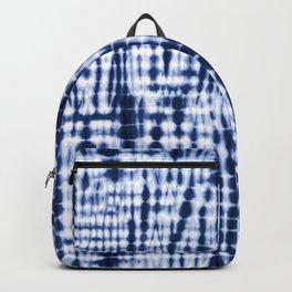 Shibori Tie Dye Pattern Backpack
