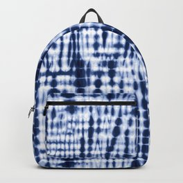 Shibori Tie Dye Pattern Backpack