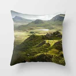 Isle of Skye, Scotland Throw Pillow
