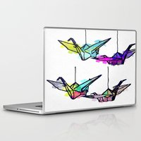 the lights Laptop & iPad Skins featuring Lights by Sofia Gerona