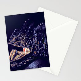 Chameleon. Recolored. Stationery Cards