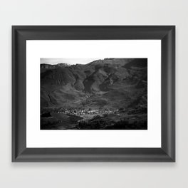 Lost City Framed Art Print