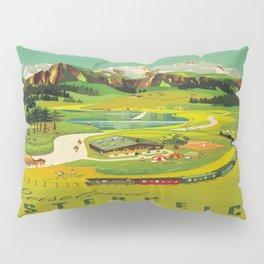 Vintage poster - Austria Pillow Sham