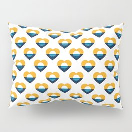 Heart of MKE - People's Flag of Milwaukee Pillow Sham