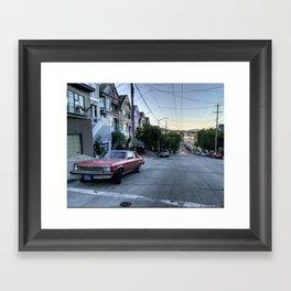 Castro - San Francisco - CALIFORNIA Framed Art Print
