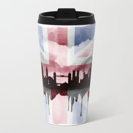 Great British Flag London Skyline 2 Travel Mug