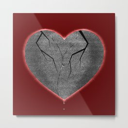 Allegory of a Static Heart Metal Print
