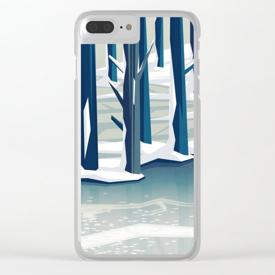 Spring was coming Clear iPhone Case