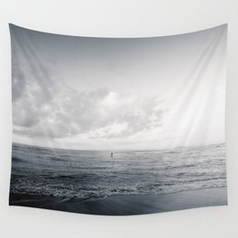 calm day ver.black Wall Tapestry