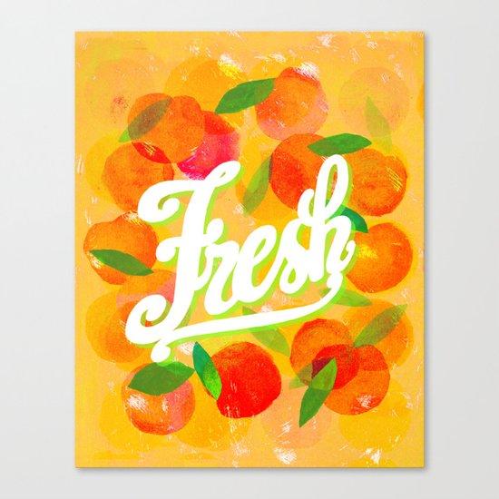 freshly hot Canvas Print