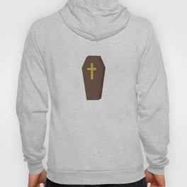 Halloween coffin with cross Hoody