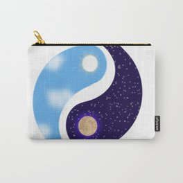 Night and Day Yin Yang Opposites Design Carry-All Pouch