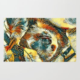 AnimalArt_Sloth_20171202_by_JAMColorsSpecial Rug